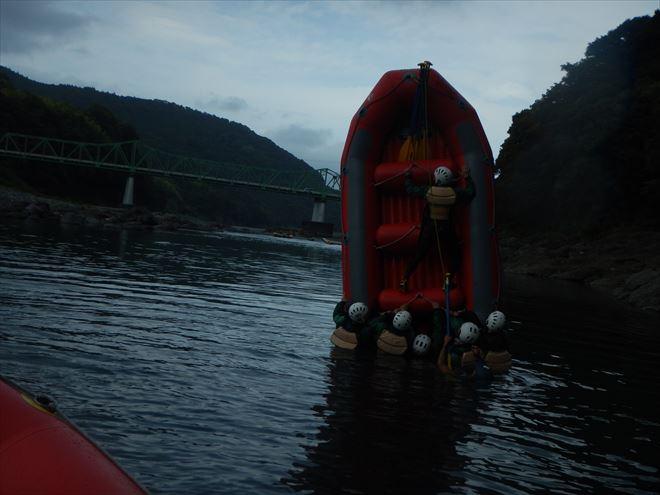 ボート遊び 富士川で遊ぶ