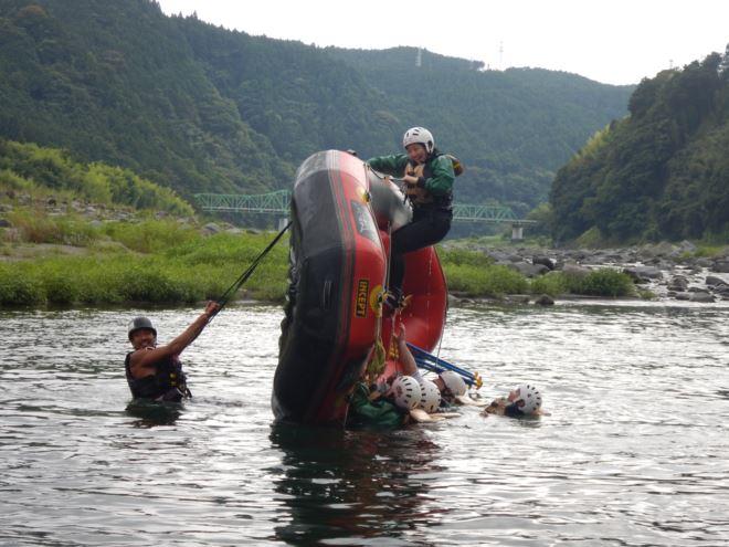 ふじかわ ボート遊び富士川