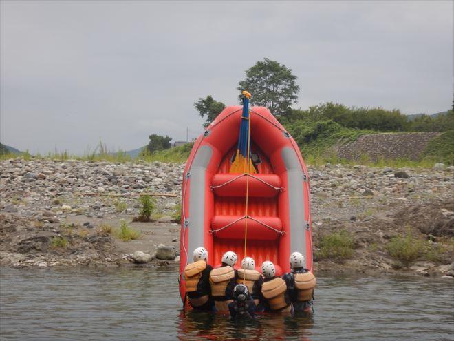 ボート遊び 川下り