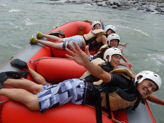赤いボート 夏休み中