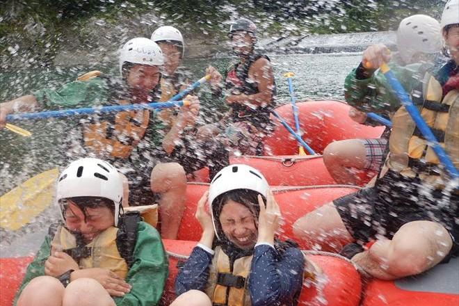 夏季おすすめ 富士川遊び
