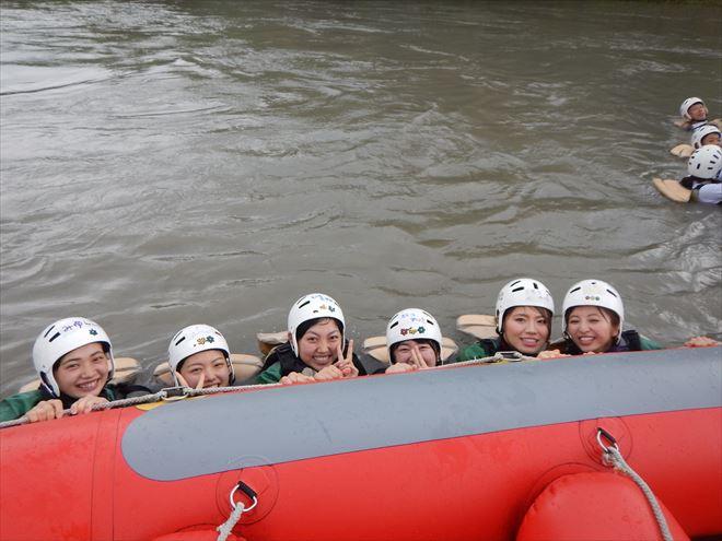 富士川で泳ぐ お盆に川で遊ぶ