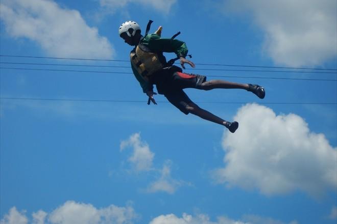 スーパーマン 空を飛ぶ