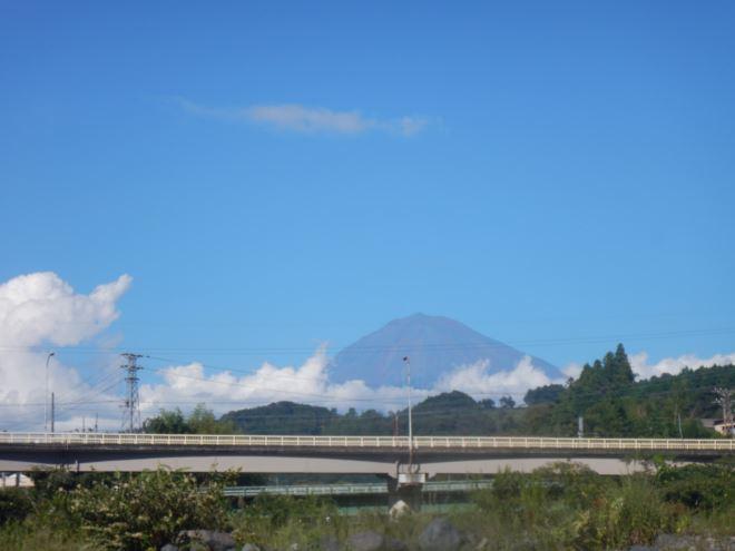 富士山 富士山を見ながらラフティング