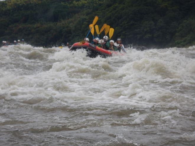 ハイウォーター富士川 増水