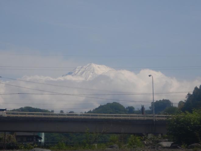 富士山 雪富士