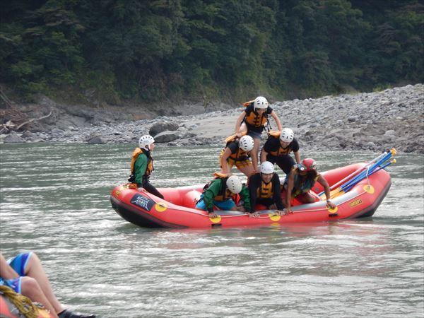 富士川 ラフティング