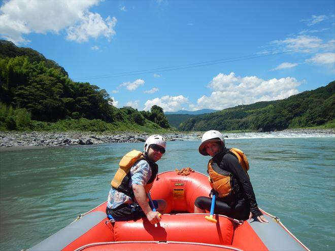 まったりラフティング 富士川下り