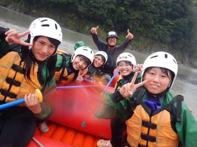 富士川ラフティング 増水