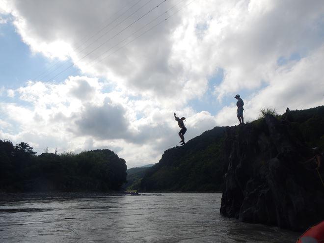 富士川 飛込み 楽しい