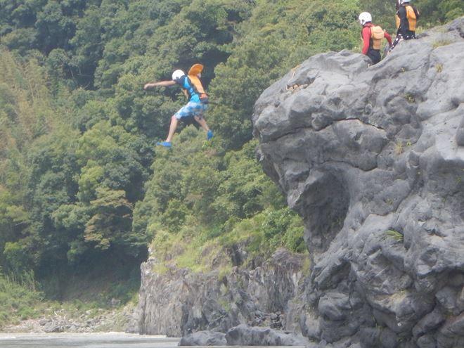 ジャンプ 飛込み 静岡