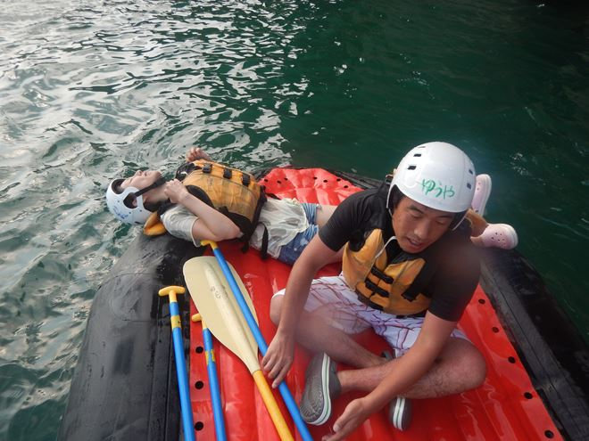 夏休み 川遊び 楽しい