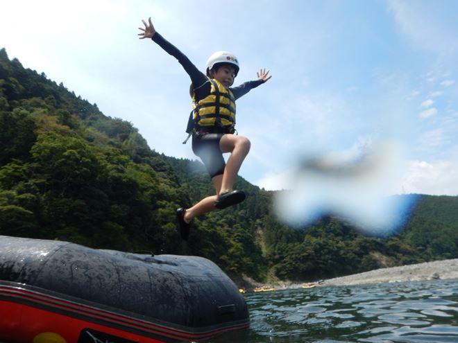 キッズ 川遊び ツアー