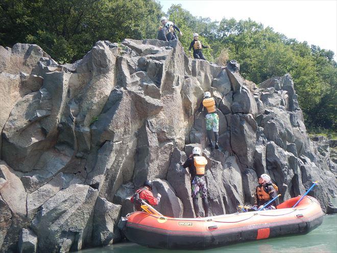 富士川ロッククライミング 岩