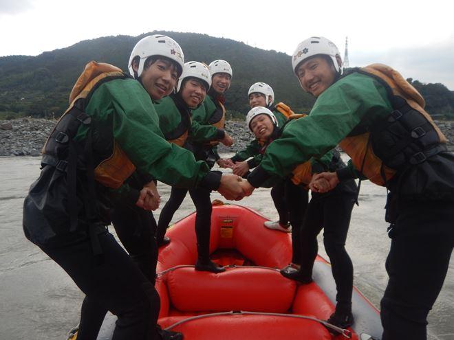 ラフティング 静岡 富士川