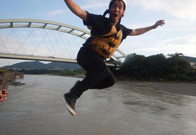 ジャンプ 富士川