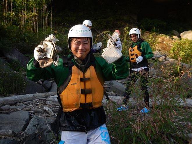 富士川 ゴミ拾い ボランティア