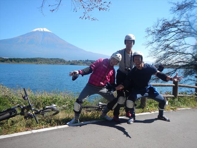 富士山 男旅