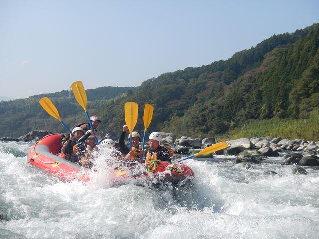 富士川 激流