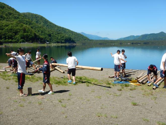 静岡 西湖 イカダ