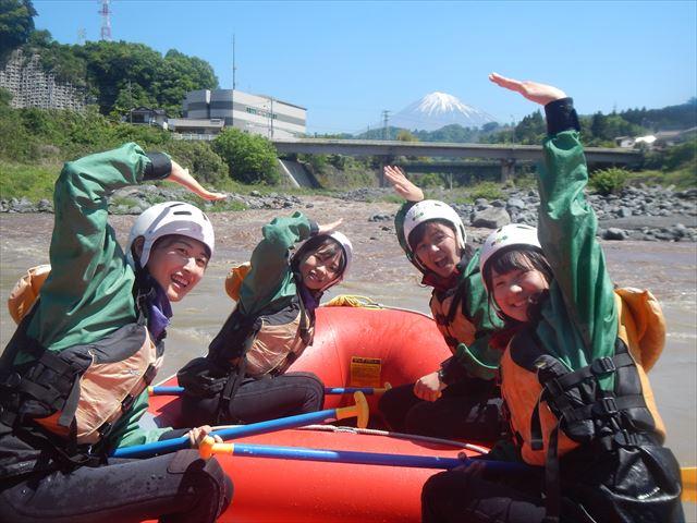 富士山 川下り ボート