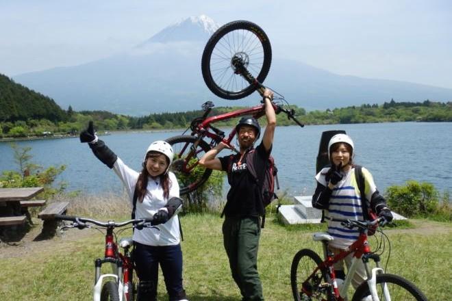 富士山 マウンテンバイク 最高