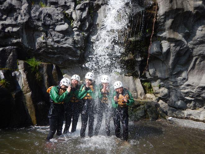 富士川 滝 修学旅行体験