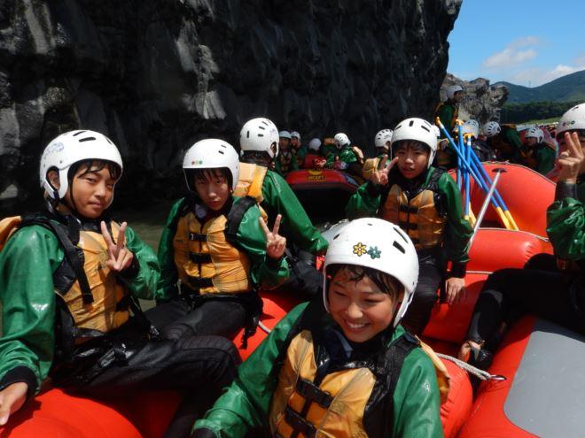 日本三大急流富士川 急流 ゴムボート