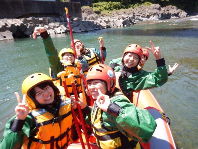 静岡 自然体験 ラフティング