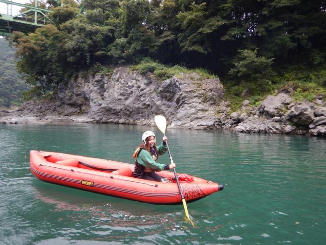 静岡 ボート 川遊び