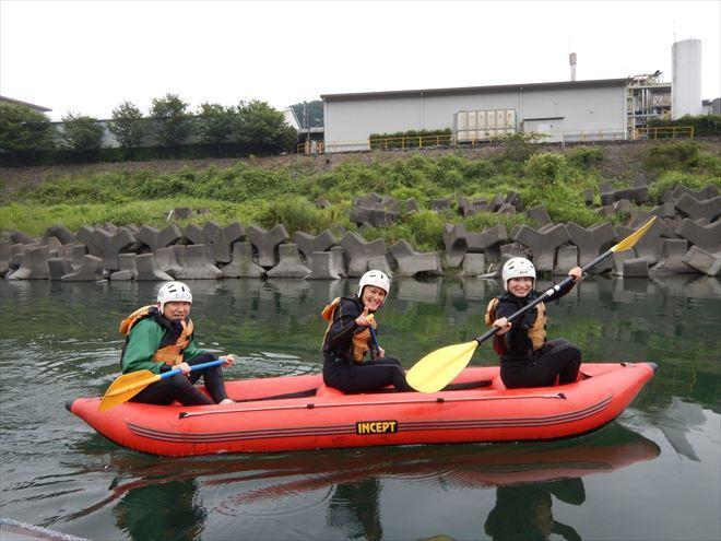 ダッキー ボート 静岡富士川