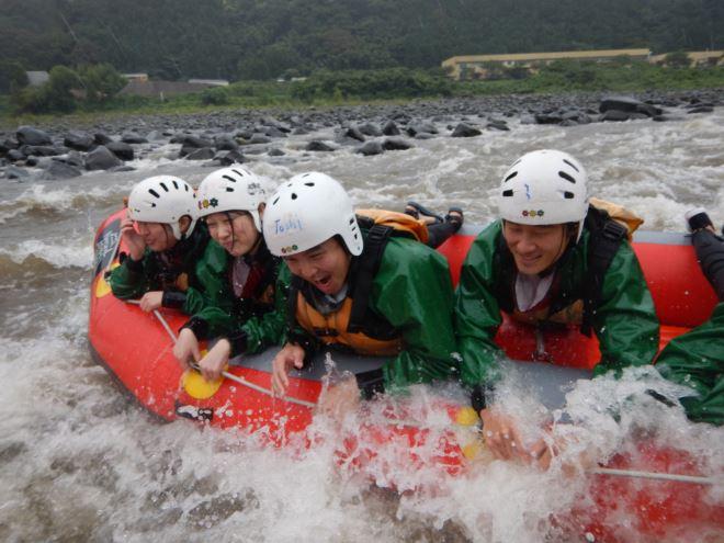 富士川 雨