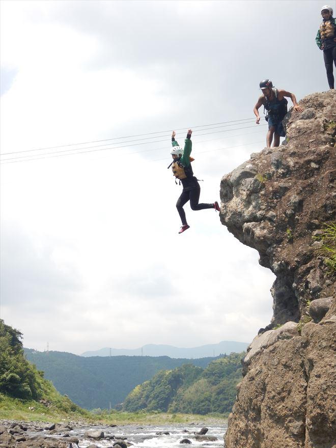 富士川飛び込み ロックジャンプ