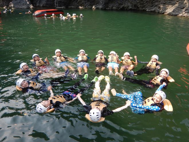 静岡川泳ぎ 静岡川遊び