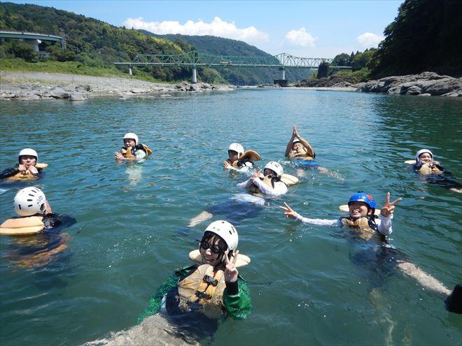 静岡川遊び 富士川泳ぎ