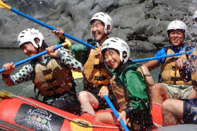 静岡 富士川 ラフティング