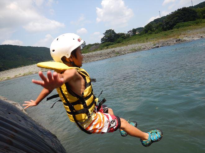 ボート遊び 川遊び