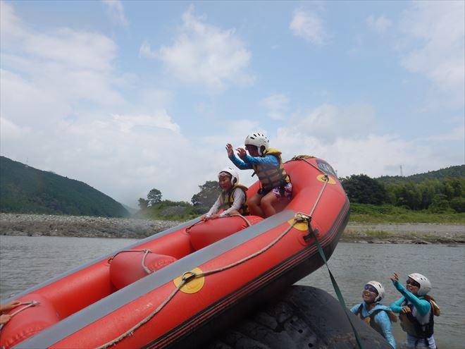 静岡ボート遊び 富士川富士宮ラフティング