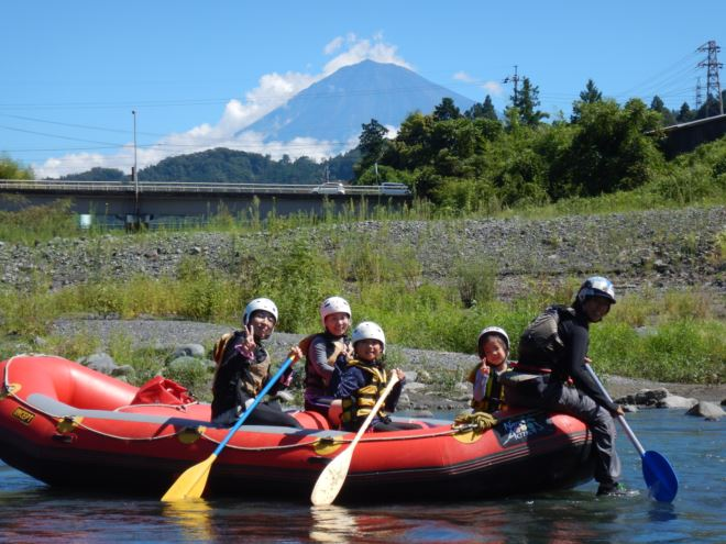 富士山 ラフティング ツアー