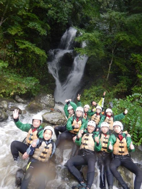 静岡 滝 ラフティング