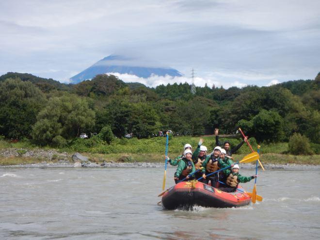 静岡 富士山 ラフティング