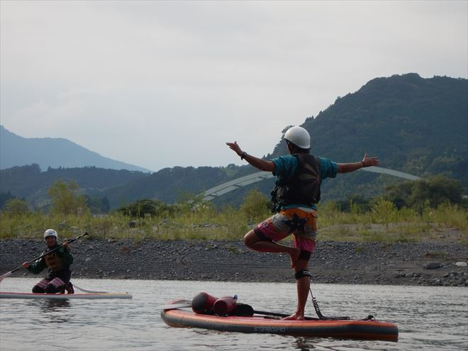 富士川 SUP