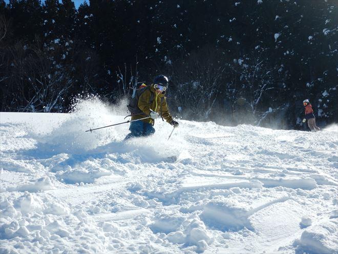 スキー ナチュラルアクション