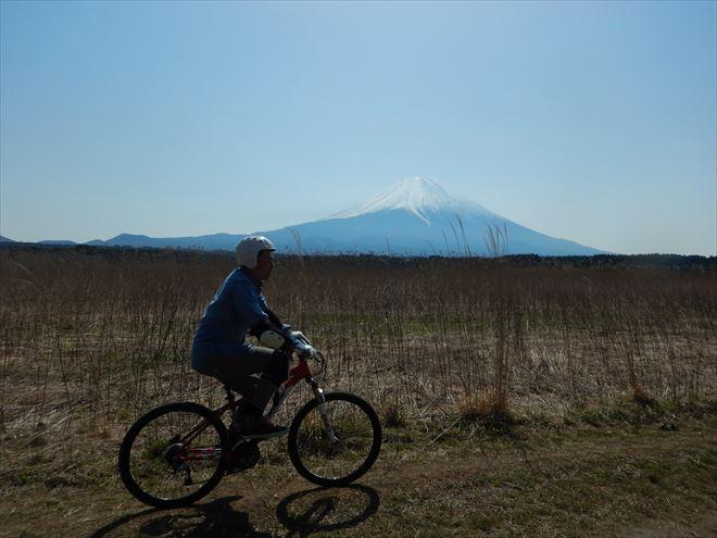 マウンテンバイク 富士山