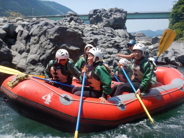 富士川 自然体験