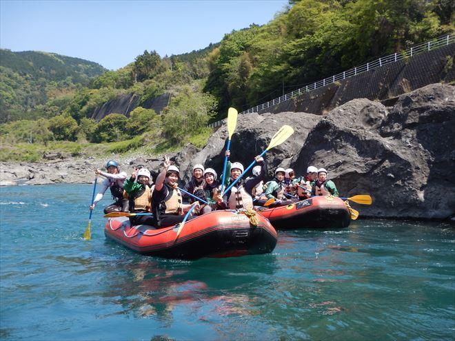 ラフティング 富士川