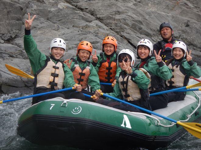 緑ボート 富士川教育旅行