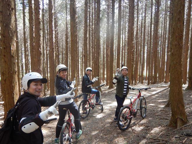 静岡マウンテンバイク チャリンコ 林道