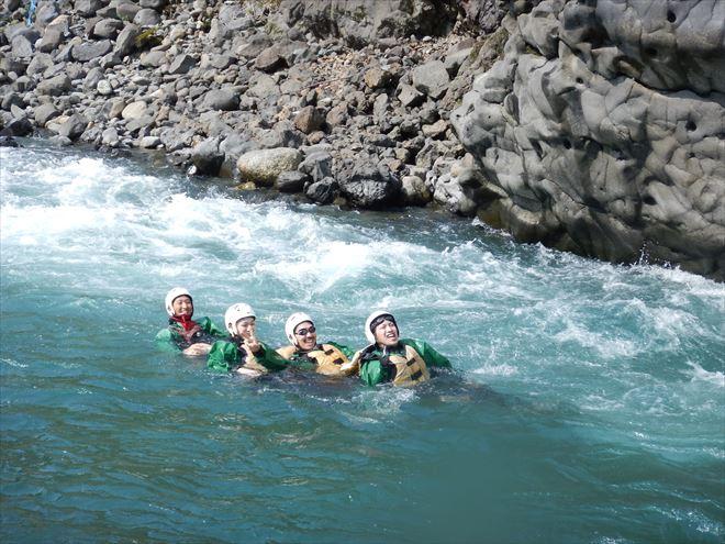 GWアウトドア GW遊ぶなら 富士川泳ぎ