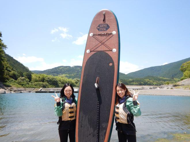 富士川SUP 川で遊ぶならナチュラルアクション